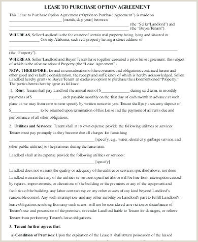 Sample Purchase Agreement Form 8 Examples In Word Lease