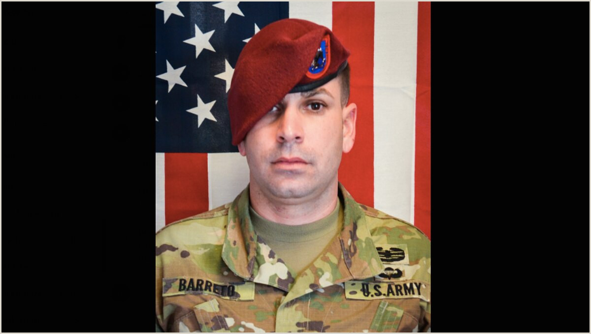 Serious Incident Report Army Paratrooper Killed by Vehicle Borne Ied Has Been Identified