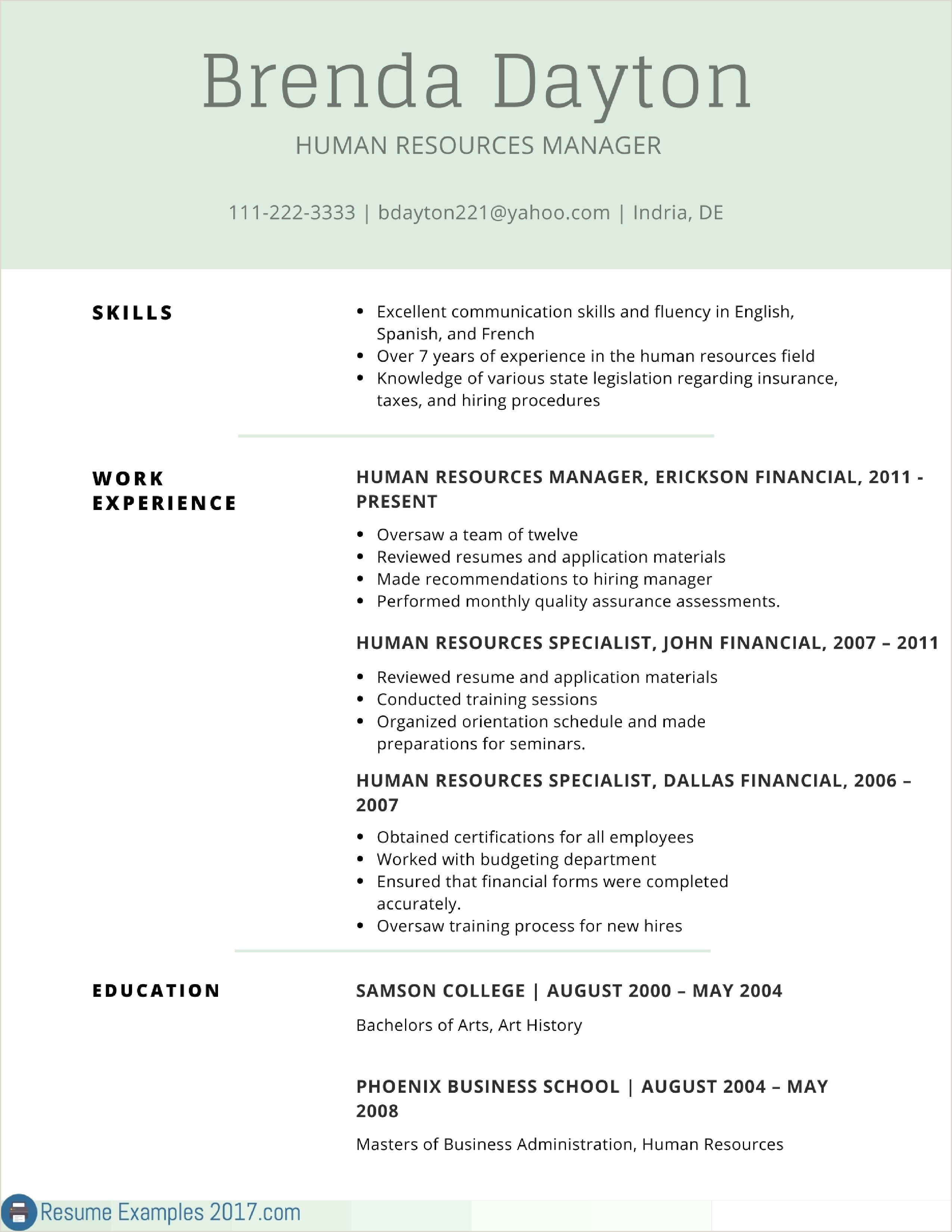 Curriculum Vitae Profile Examples Luxury Lovely Sample