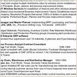 Network Resumes Samples Free Network Engineer Resume