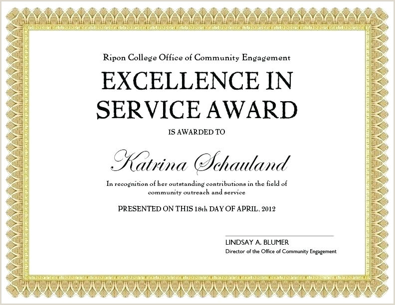 Service Recognition Awards Wording Examples Award Certificate Wording and for Inside