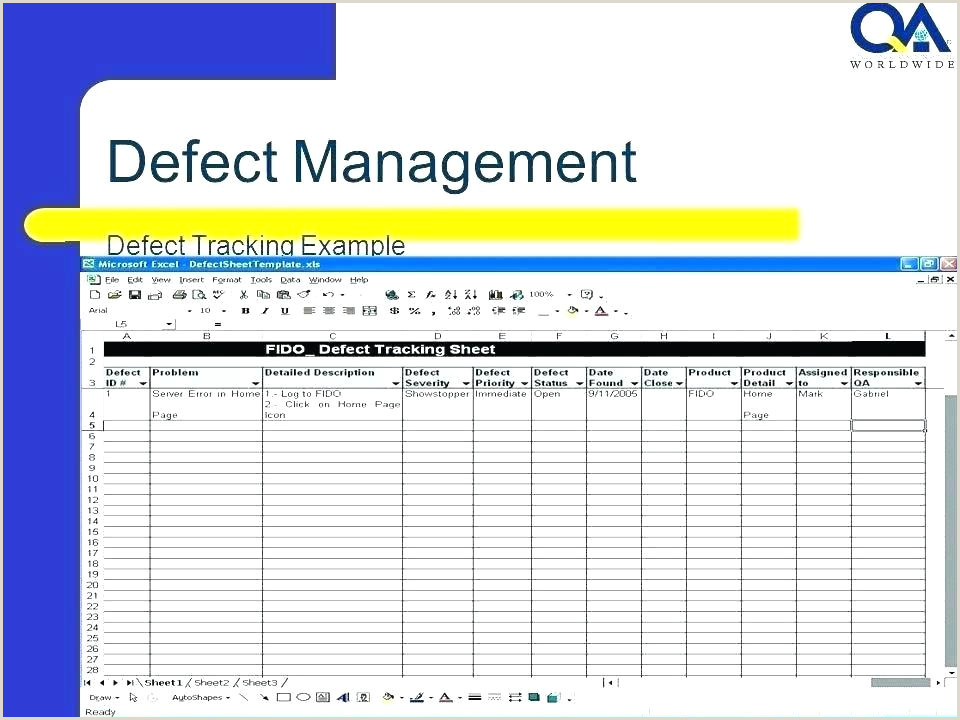 Free Project Management Issue Tracker Template Tracking Log