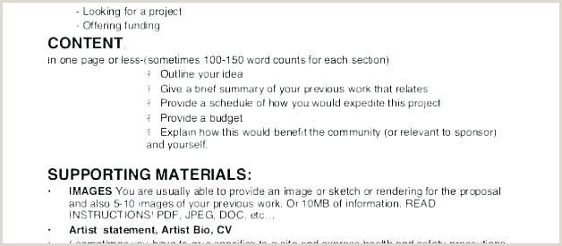 artist bio template word