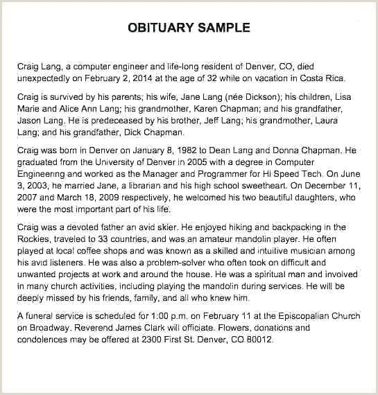 obituary examples mother – enjoyathome