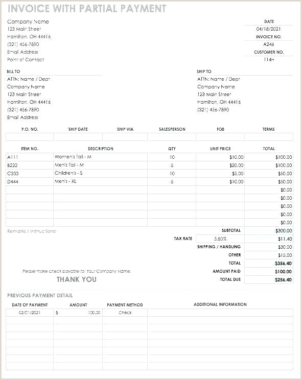 Short Paid Invoice Fancy Wedding Menu Template