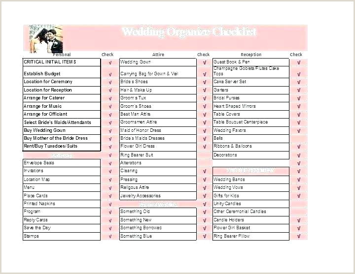 Shot List Template Excel Wedding Photography Shot List Template
