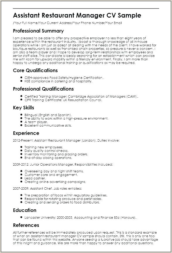 12 13 team player resume examples