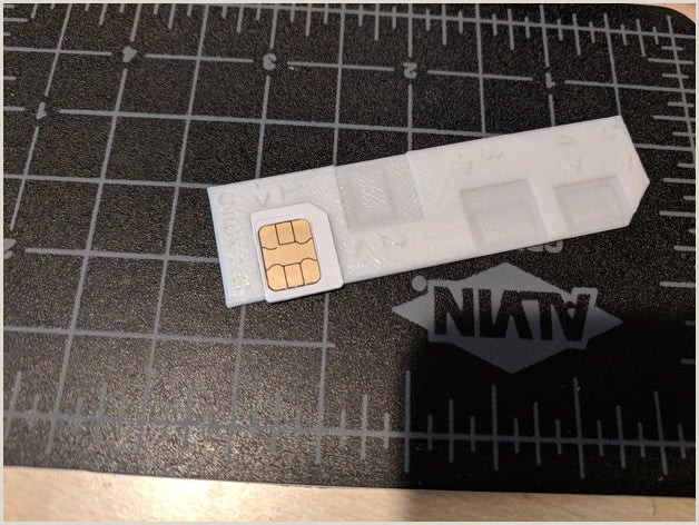SIM Adapter collection Thingiverse