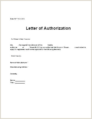 Simple Authorization Letter Sample Authorized Release Authorization Letter Information