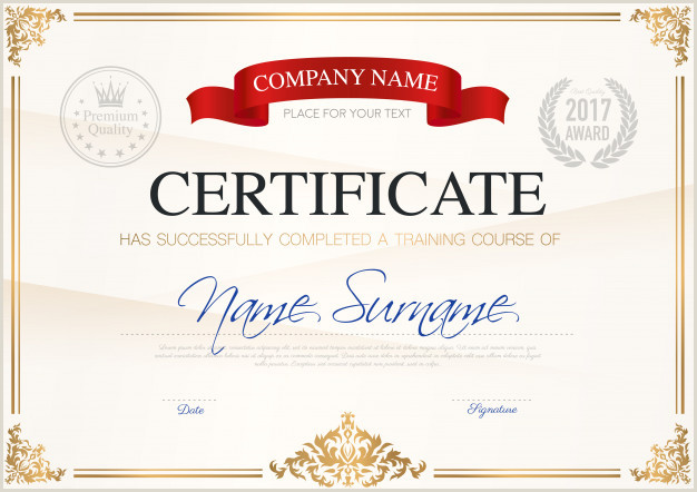 Certificate Border Vectors s and PSD files