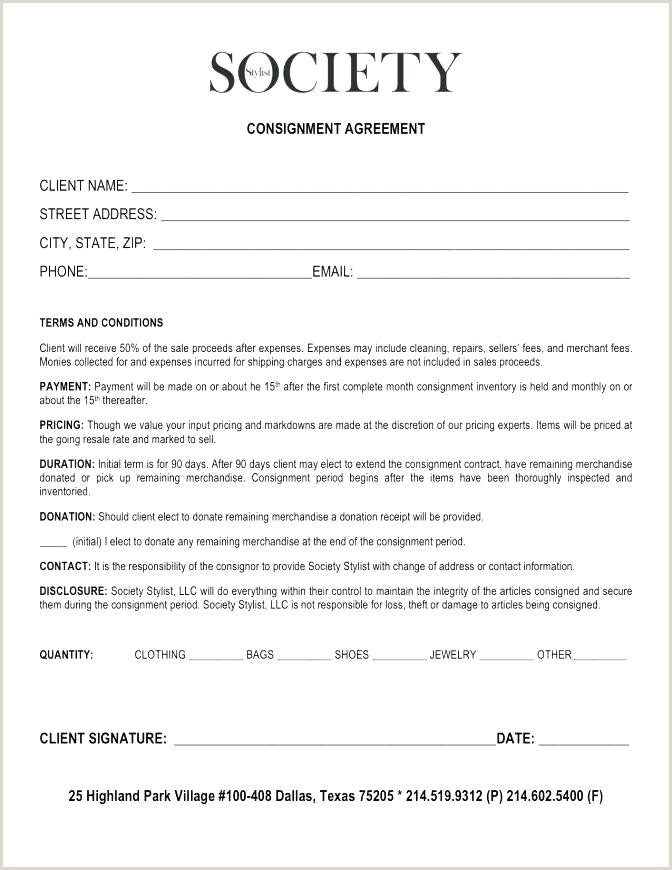 consignment agreement sample free – dstic