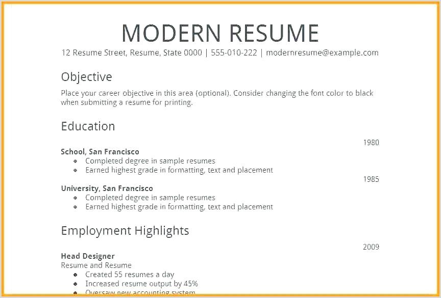 Simple Fresher Resume format Word Simple Curriculum Vitae Template – Musacreative