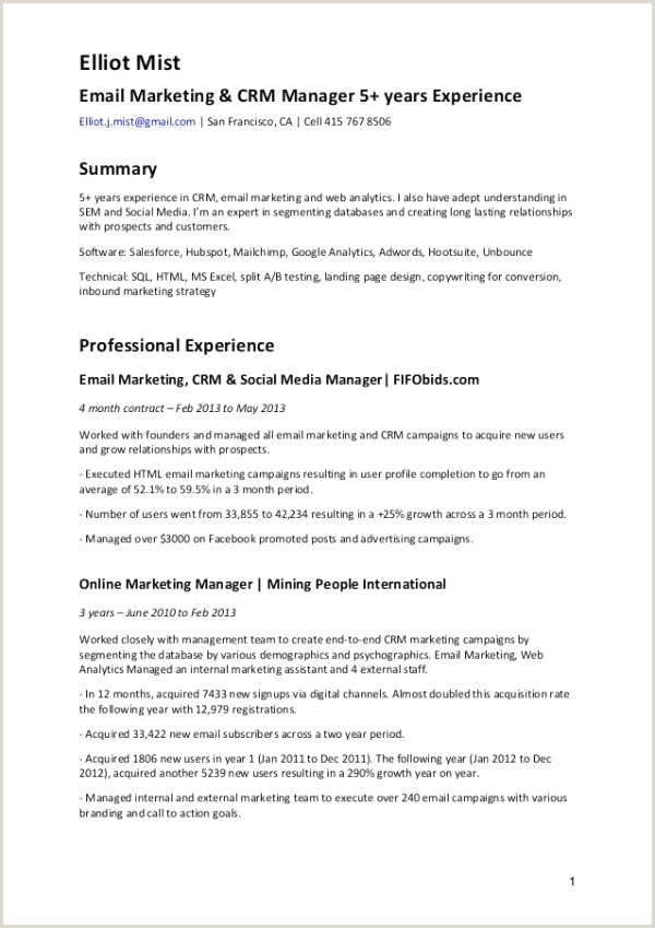 Luxurious Marketing Specialist Resume Resume Design