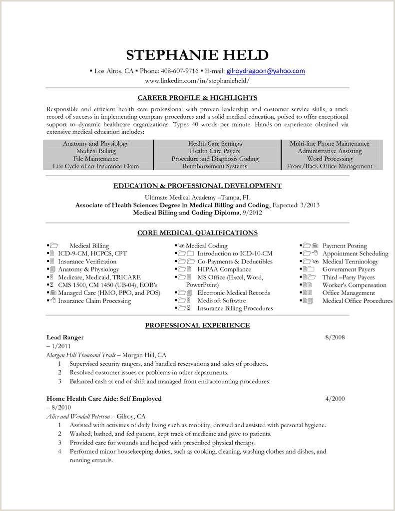 Medical Coding Specialistsume Samples Velvet Jobs Entry