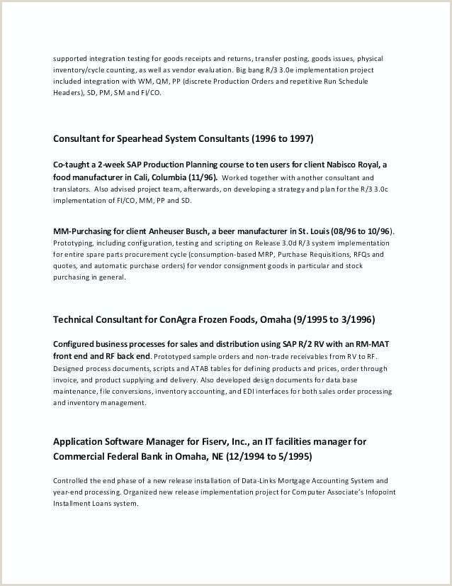 sap mm consultant sample resume – HA