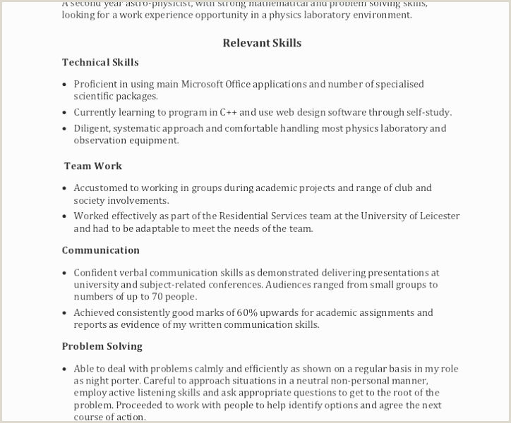 Simple Resume format In Word Awesome Simple Resume format In
