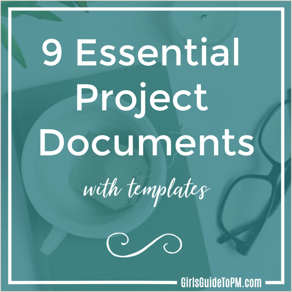 Single Point Lesson Template 9 Essential Project Documents with Templates • Girl S