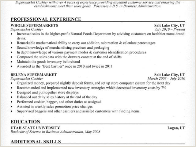Cashier Definition for Resume Exotic Cashier Resume Skills
