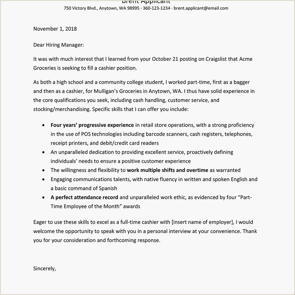Skills for Cashier Cover Letter for Cashier at A Grocery Store Unique Cashier