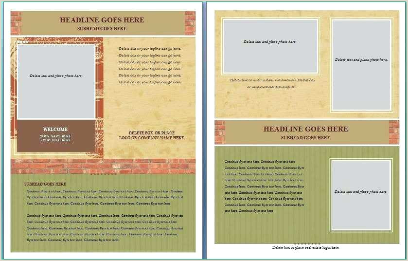 cancer brochure template