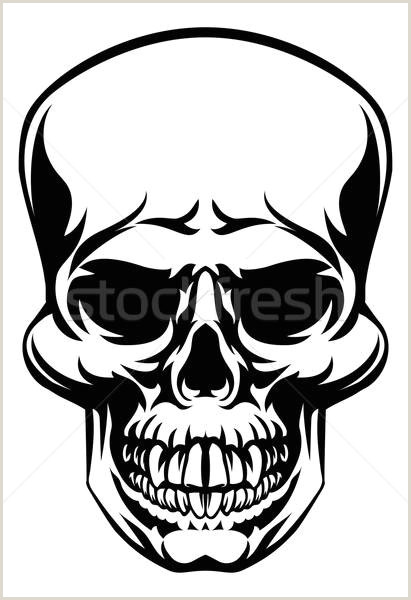 Skull vector illustration © Christos Georghiou Krisdog