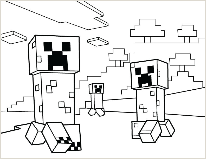 Coloring Pages Minecraft Skeleton Template Head Zombie