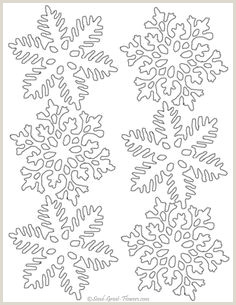 Snowflake Template for Icing 122 Best Snowflake Cake Images