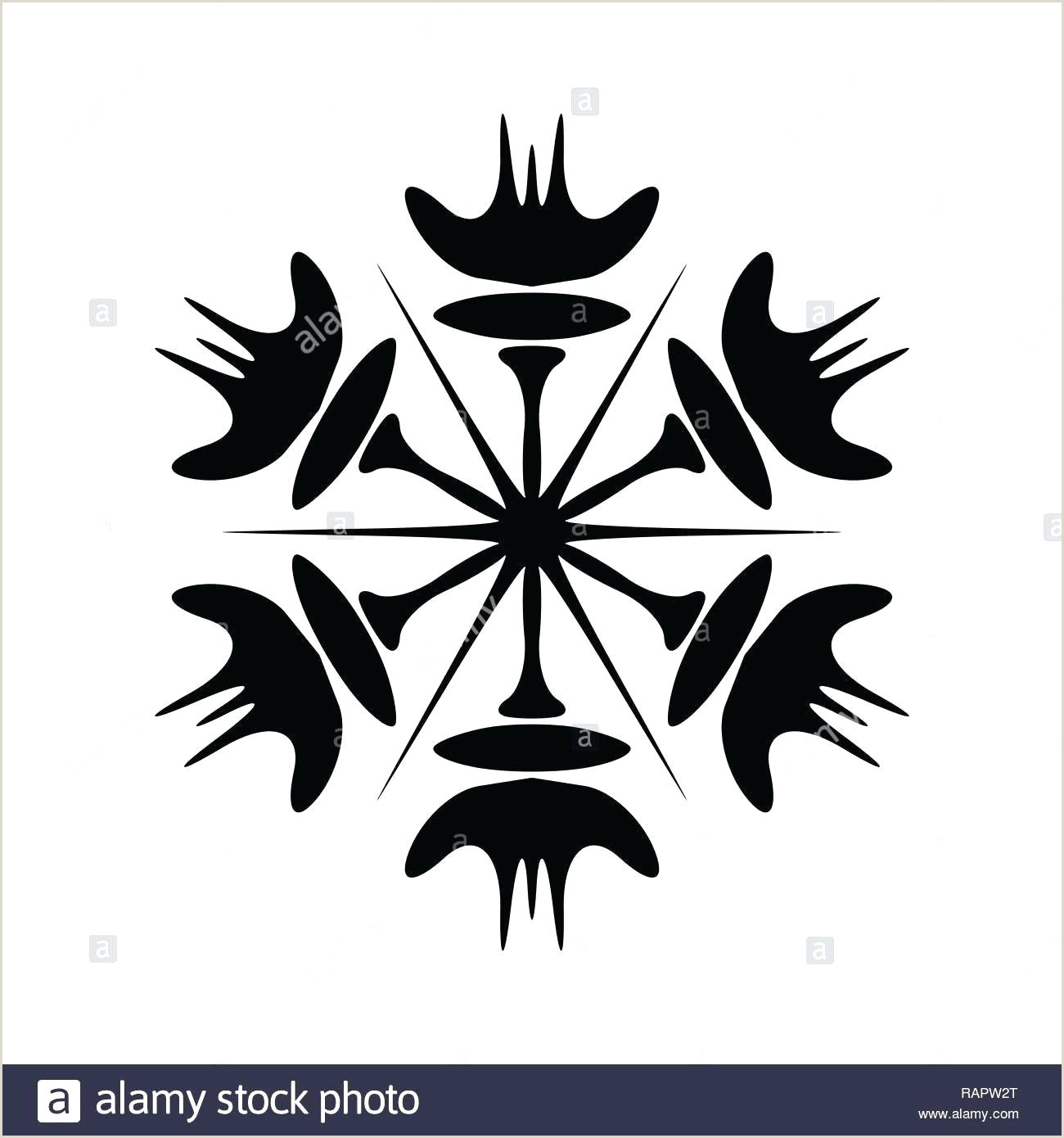 Snowflake Template for Icing Simple Snowflake Template – Deucesheet