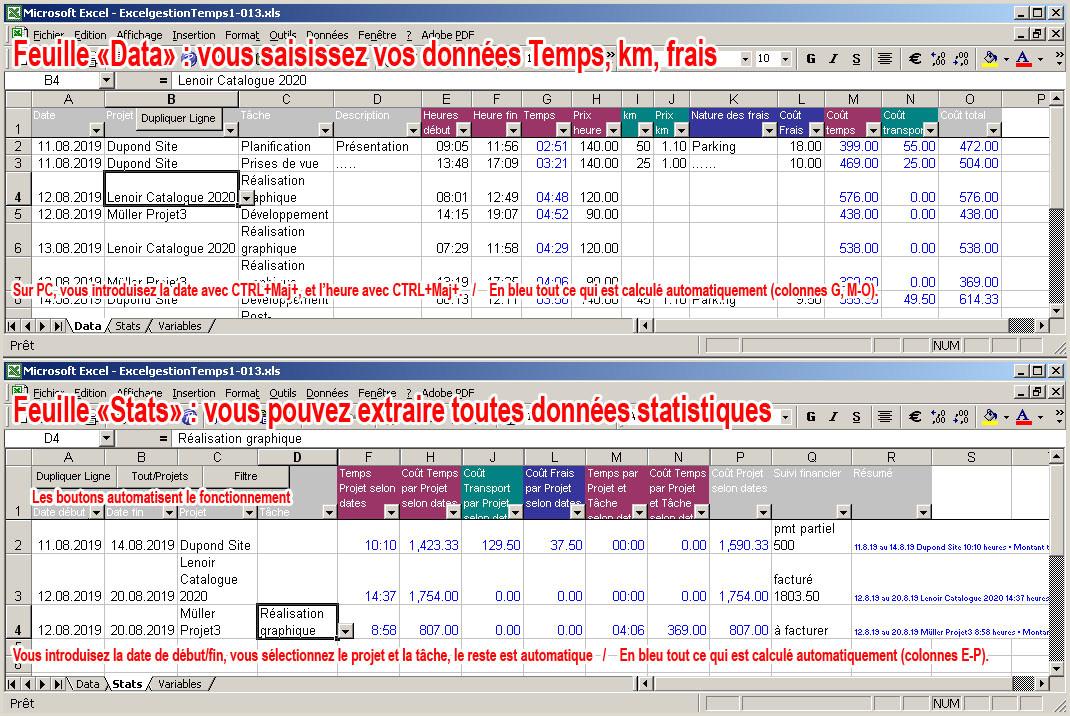 Excelgestion facturation et gestion de stock simple et