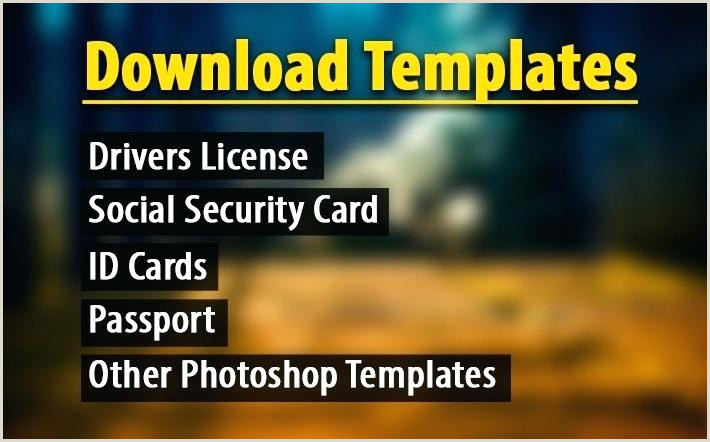 Social Security Card Template Photoshop Passport Template 7 Taxi Receipt Templates Word Excel