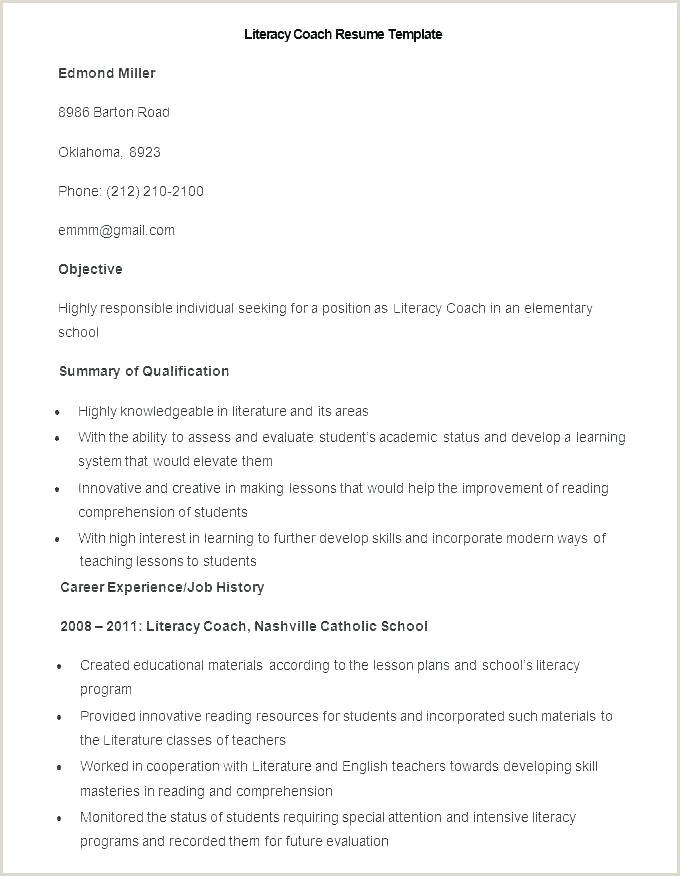 Softball Coach Resume Basketball Player Profile Template – Woodnartstudio