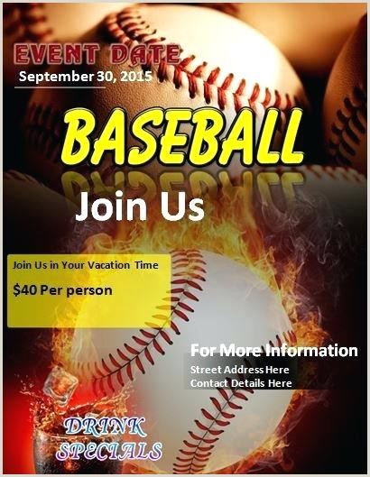 Softball Tournament Flyer Template Free View Template Baseball Flyer Free Psd Posters – Bighaus