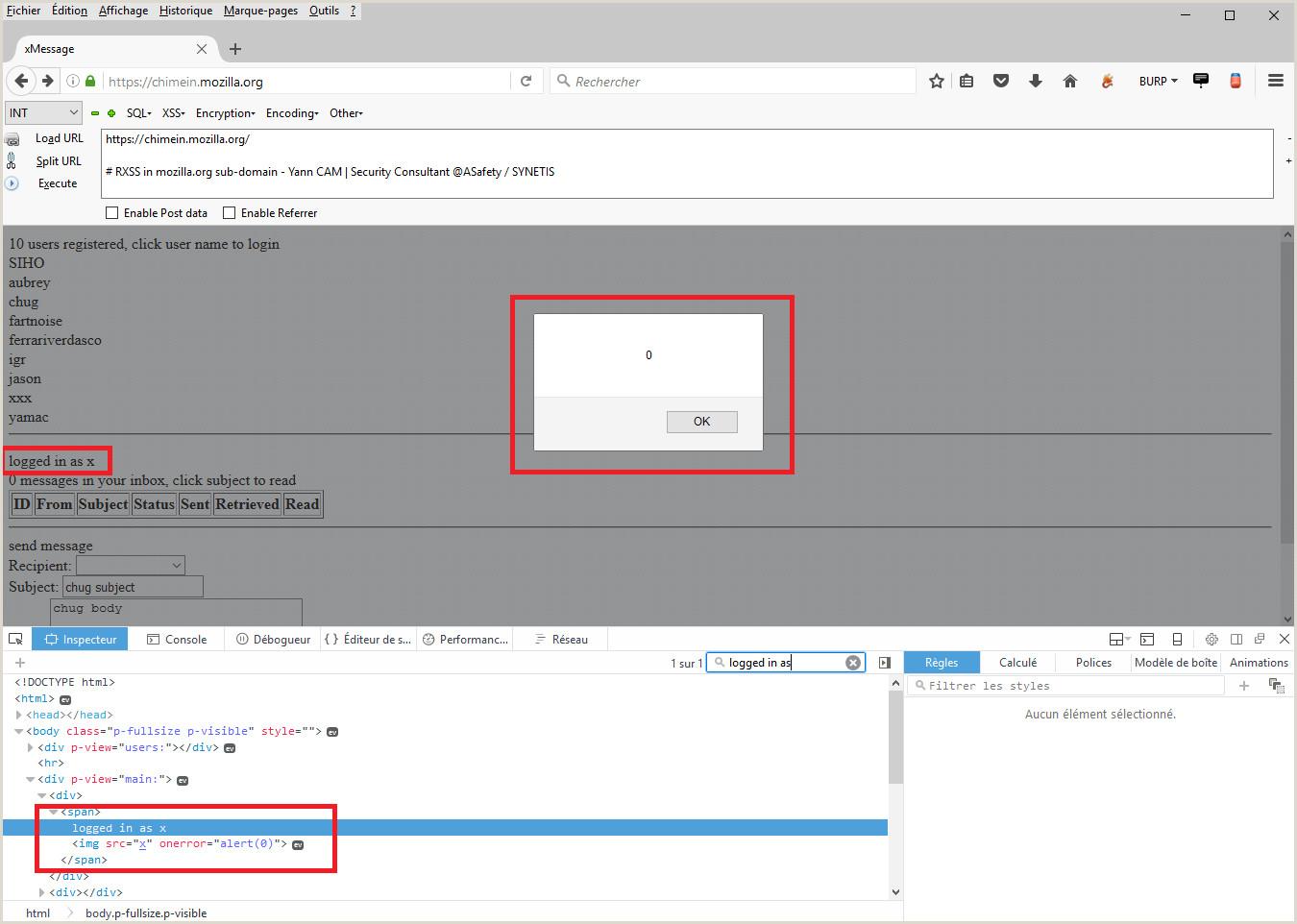 ASafety [Contribution] Mozilla – HTTP Response Splitting