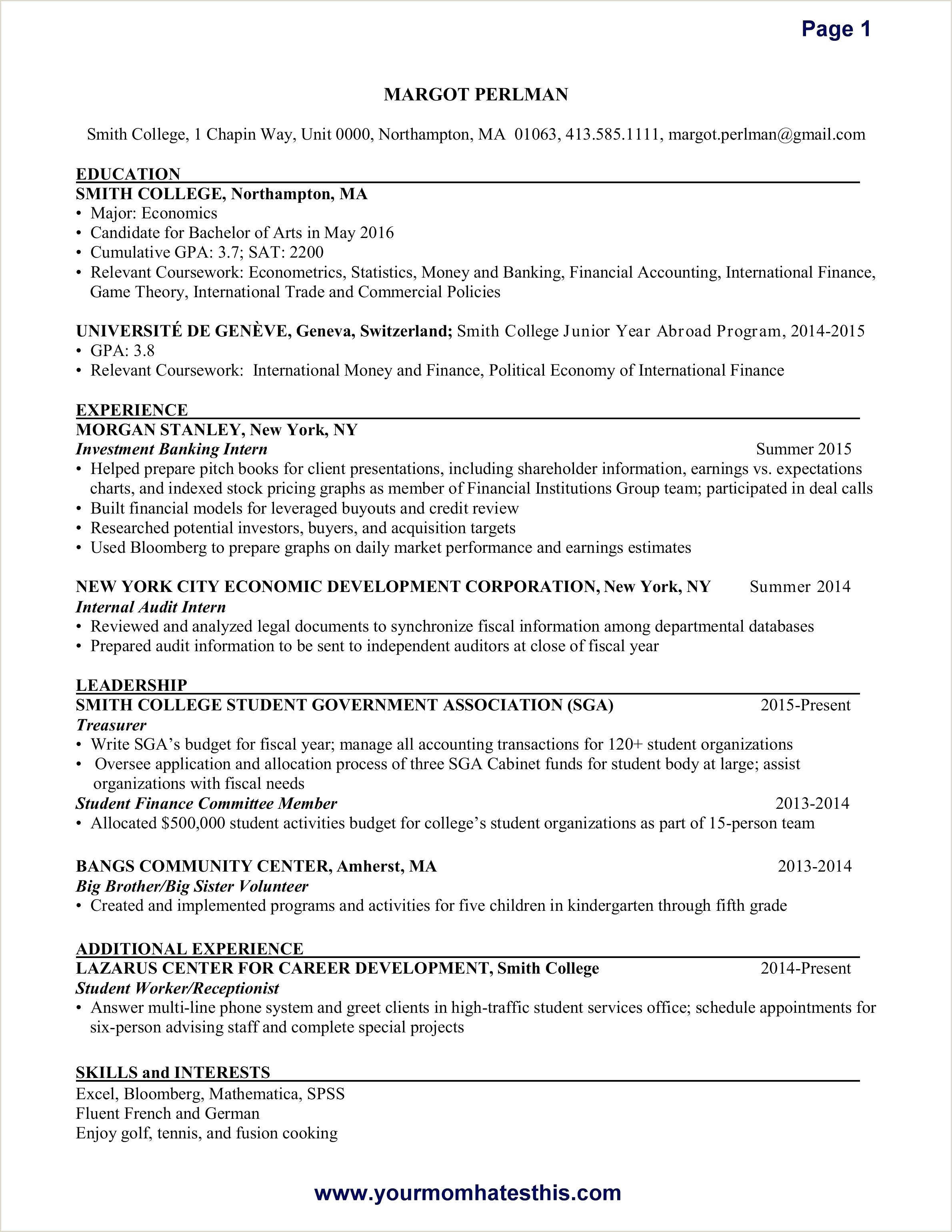 Special Education Cover Letter Examples 10 Cover Letter Example for A Resume