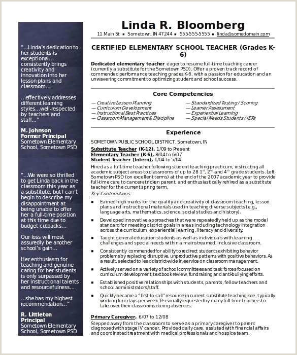 Special Education Teacher Resume Examples Elegant Example Resume Education – 50ger
