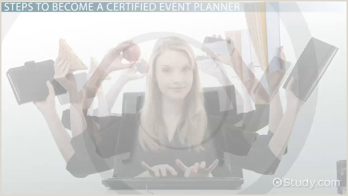 How to Be e a Certified Event Planner