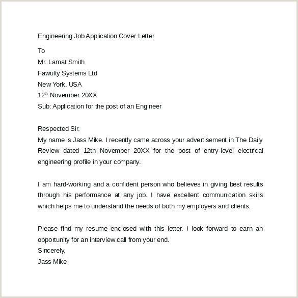 Speculative Application Cover Letter Cover Letter Samples
