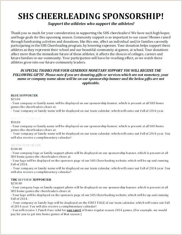 athlete sponsorship proposal template