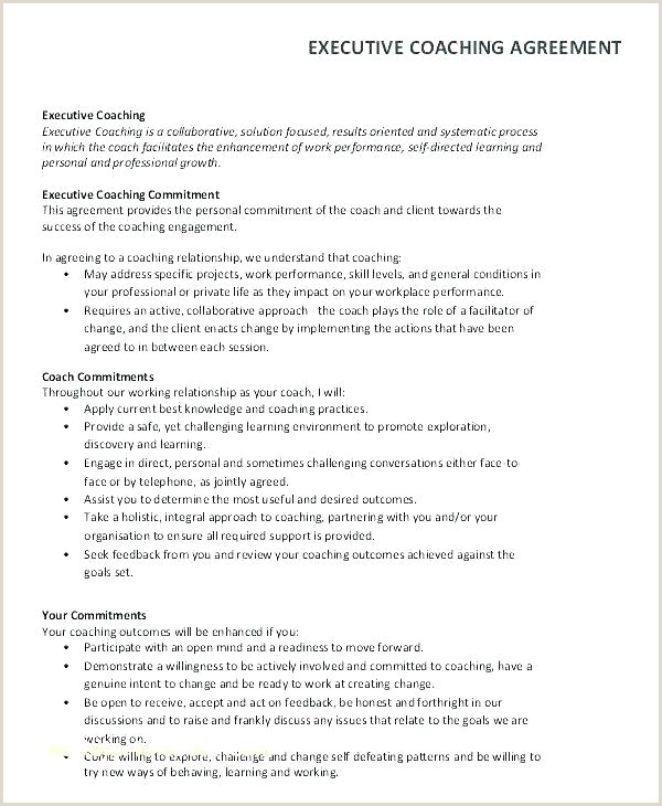Academic Coaching Coaching And Mentoring Agreement Form