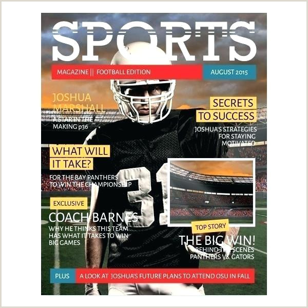 Sports Illustrated Magazine Template soccer Sports Magazine Sports Illustrated Cover Shop