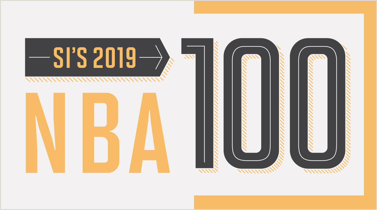 Sports Illustrated Magazine Template top 100 Nba Players Of 2019 Count Down 10 1