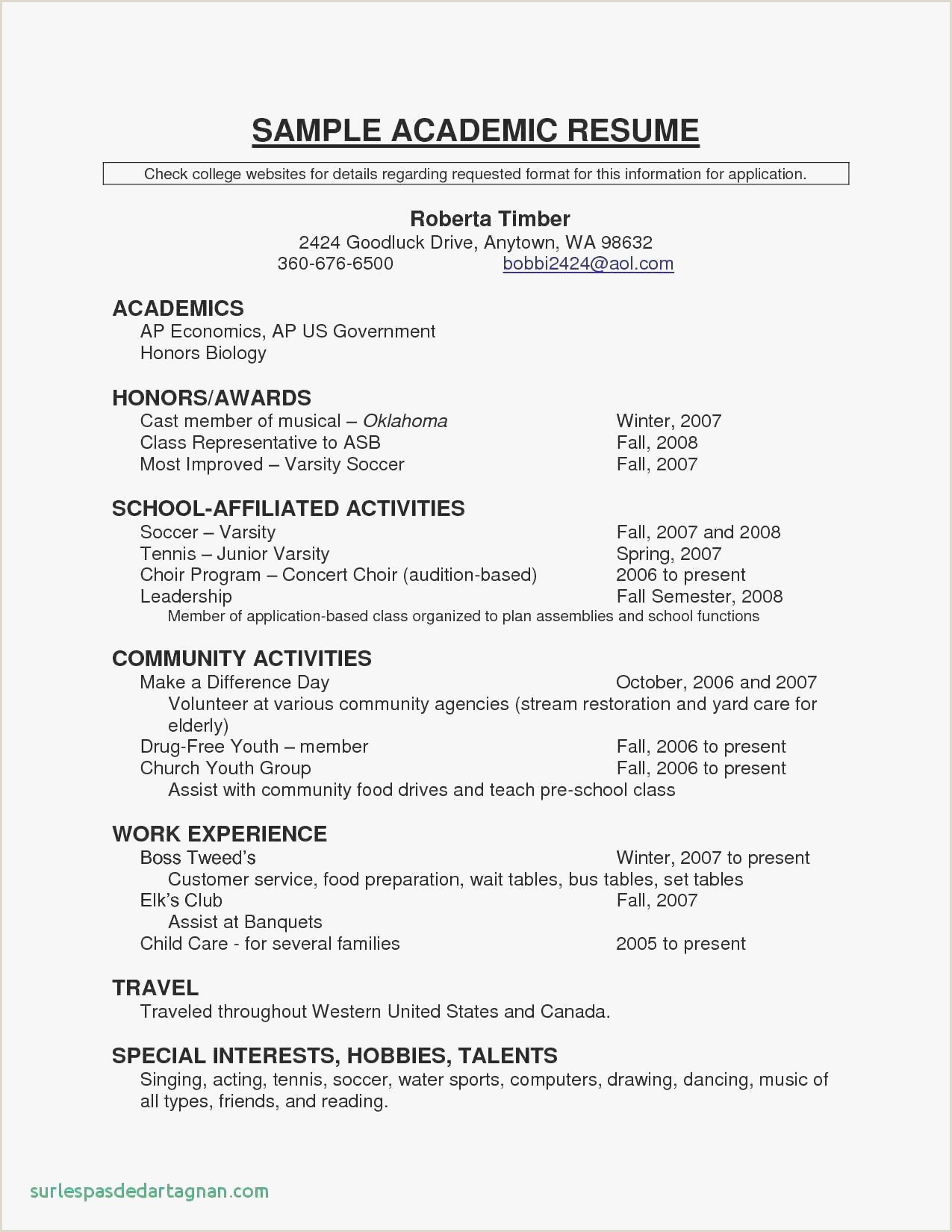 Sports Photo Templates Resumes with Templates New Resume Sample Edu Valid