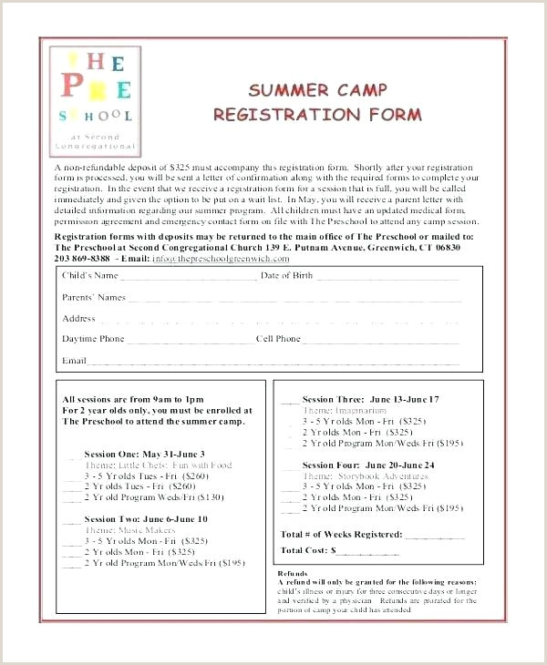 Sports Registration forms Template Best event Registration form Template Google Docs Youth
