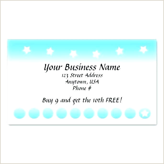 Stamp Card Template Customer Card Template