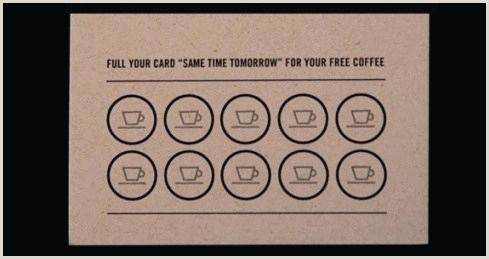 Stamp Card Template Free Loyalty Card Template