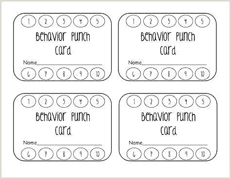Reward Punch Card Template Free line Loyalty Best Stamp