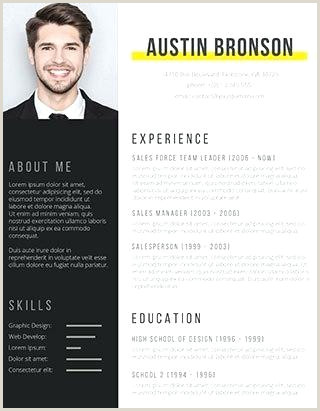 Standard Cv format 2019 Free Download Contrast Resume Latest Templates Word Cv Template Free