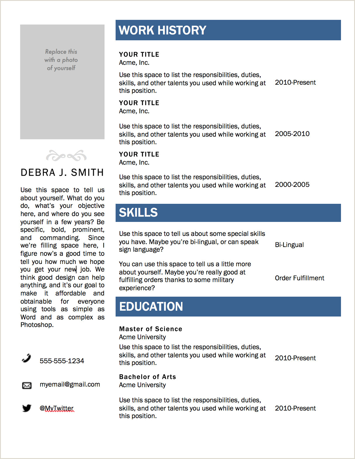 Standard Cv format 2019 Free Download Template Ideas Free Microsoft Resume Templates Marvelous