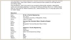 Standard Cv format Bd Pdf Standard Cv format Bangladesh Professional Resumes Sample