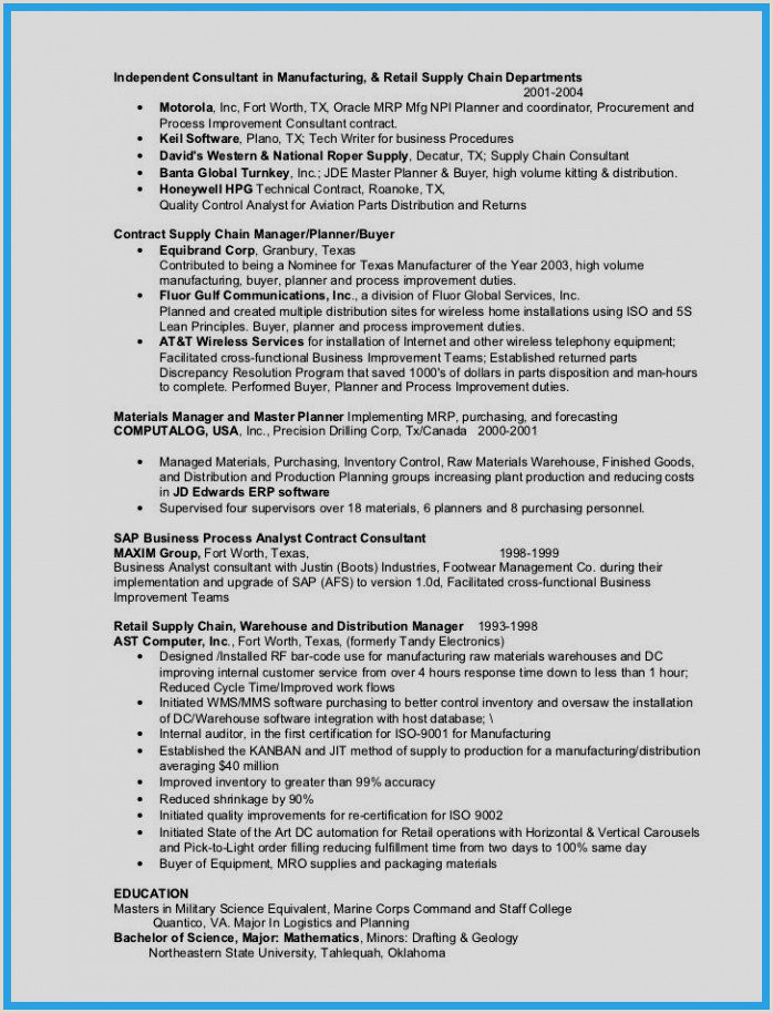 25 Free Science Resume Example